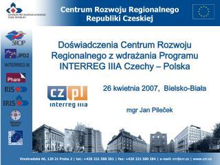 Centrum Rozwoju Regionalnego Republiki Czeskiej