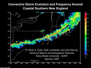 Convective Storm Evolution and Frequency Around Coastal Southern New England