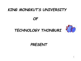KING MONGKUT'S UNIVERSITY