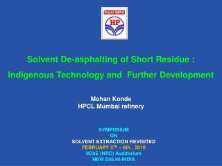 Mohan Konde HPCL Mumbai refinery