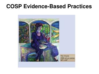 COSP Evidence-Based Practices