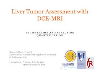 Liver  Tumor  Assessment with  DCE-MRI