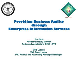 Providing Business Agility  through Enterprise Information Services