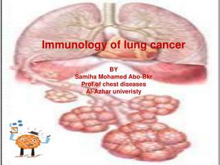 Immunology of lung cancer BY Samiha Mohamed Abo-Bkr Prof.of chest diseases Al-Azhar univeristy