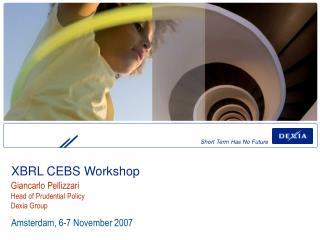XBRL CEBS Workshop