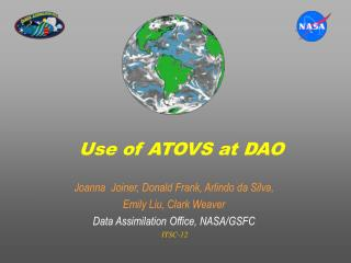Use of ATOVS at DAO