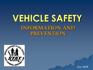 VEHICLE SAFETY