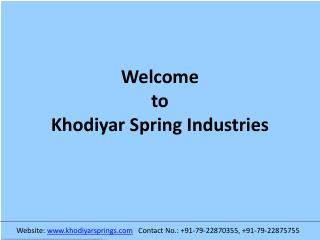 Irrigation Springs | Irrigation Springs Manufacturer