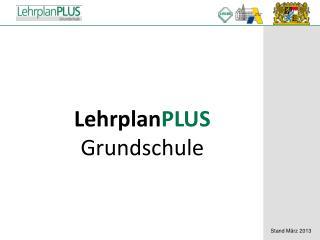 Lehrplan PLUS Grundschule