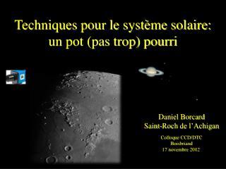 Daniel Borcard Saint-Roch de l'Achigan