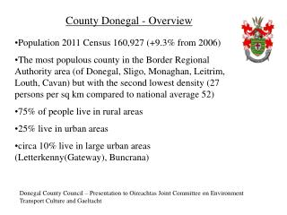 County Donegal - Overview