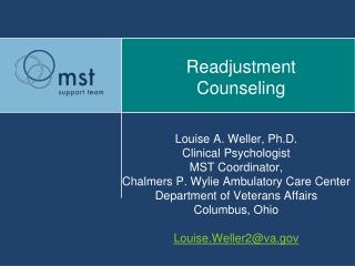 Readjustment  Counseling