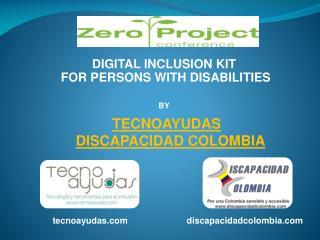 TECNOAYUDAS  DISCAPACIDAD COLOMBIA