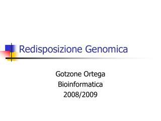 Redisposizione Genomica