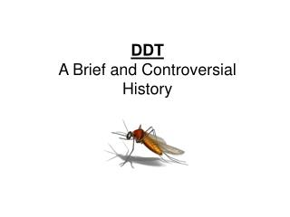 DDT A Brief and Controversial History