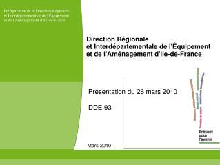 Direction Régionale  et Interdépartementale de l'Équipement  et de l'Aménagement d'Ile-de-France