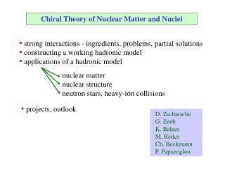 Chiral Theory of Nuclear Matter and Nuclei
