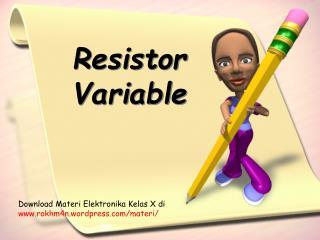 Resistor Variable