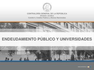 CONTRALORÍA GENERAL DE LA REPÚBLICA División Jurídica