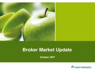 Broker Market Update