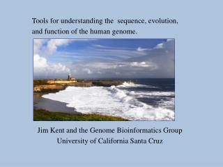 Tools for understanding the  sequence, evolution,  and function of the human genome.