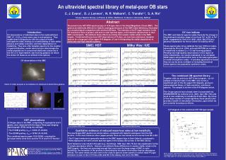 An ultraviolet spectral library of metal-poor OB stars