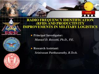 RADIO FREQUENCY IDENTIFICATION  (RFID) AND PRODUCTIVITY IMPROVEMENTS IN MILITARY LOGISTICS
