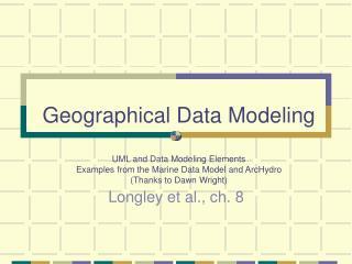 Longley et al., ch. 8