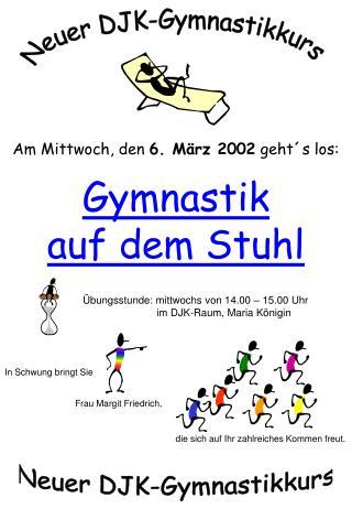 Neuer DJK-Gymnastikkurs