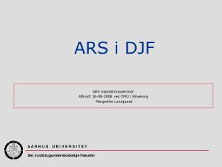 ARS i DJF