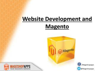 Website Development and Magento with MageShopApps