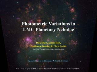 Photometric Variations in LMC Planetary Nebulae