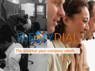 The solution your company needs