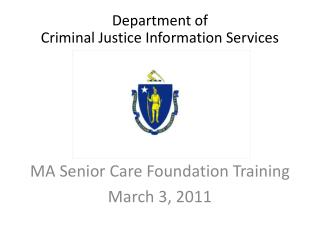 Department of Criminal Justice Information Services