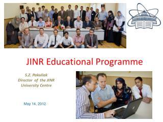JINR educational program
