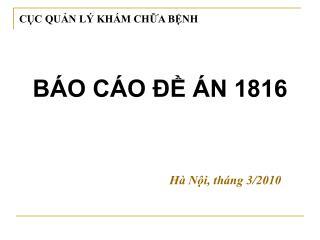 BÁO CÁO ĐỀ ÁN 1816