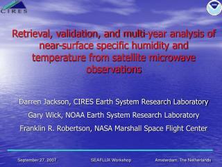 Jackson et al. 2006 Qa/Ta Retrievals