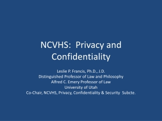 HIPAA, the Privacy Rule and Research