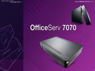 ■ OS 7400/7200 에 연동되는 단말 지원  ■ OS 7400/7200 과  SPNet  연동 가능