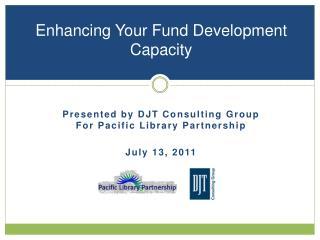 Enhancing Your Fund Development Capacity