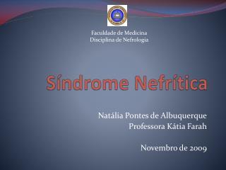 Síndrome  Nefrítica