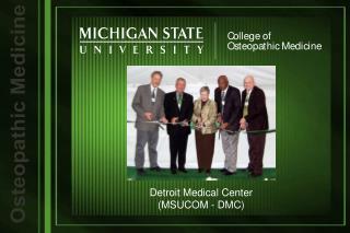 Detroit Medical Center (MSUCOM - DMC)