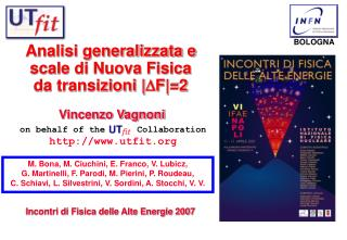 Analisi generalizzata e scale di Nuova Fisica da transizioni | F|=2