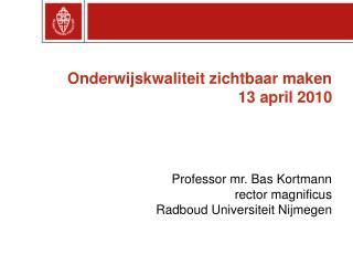Strategisch Plan Radboud Universiteit