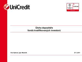 Úloha depozitáře fondů kvalifikovaných investorů