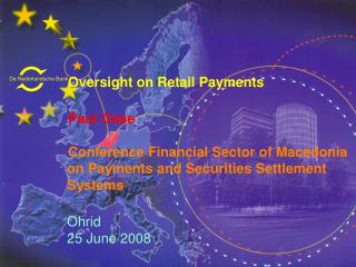 Oversight on Retail Payments