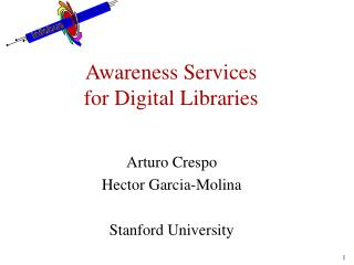 Awareness Services  for Digital Libraries