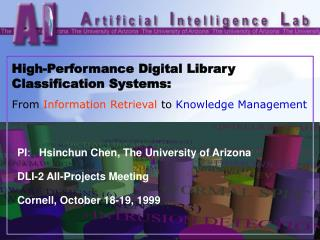 High-Performance Digital Library Classification Systems: