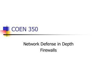 COEN 350