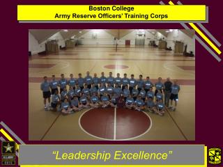 Boston College  Army Reserve Officers� Training Corps